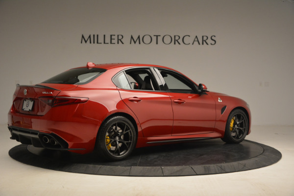Used 2017 Alfa Romeo Giulia Quadrifoglio for sale Sold at Alfa Romeo of Greenwich in Greenwich CT 06830 8