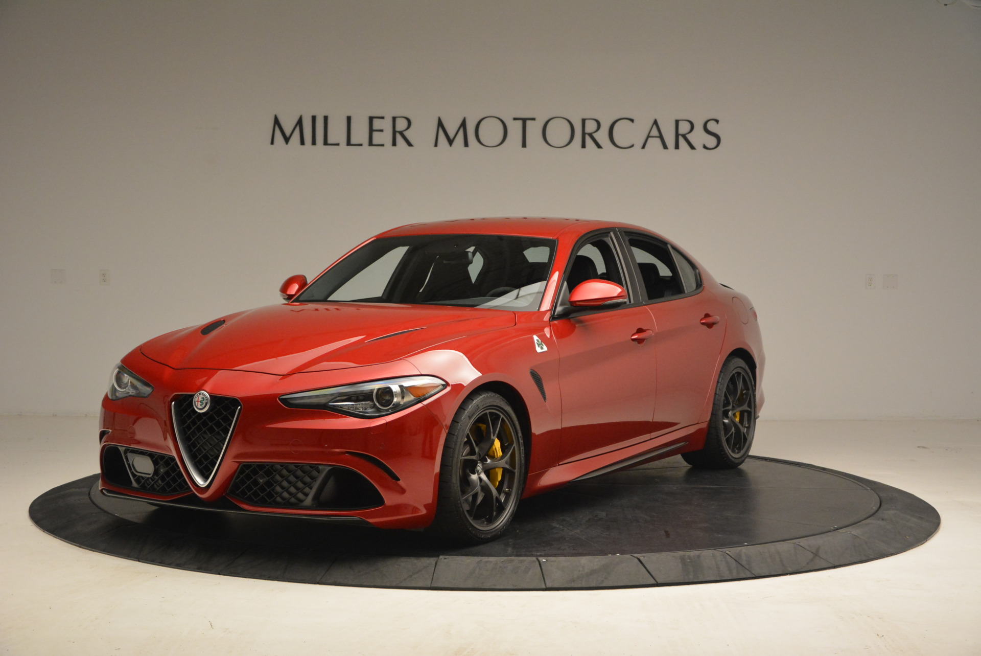 Used 2017 Alfa Romeo Giulia Quadrifoglio for sale Sold at Alfa Romeo of Greenwich in Greenwich CT 06830 1