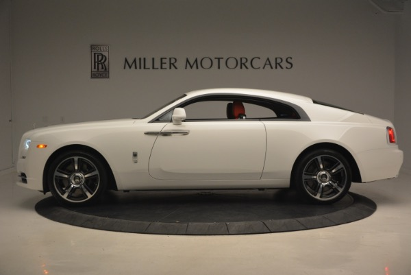 Used 2017 Rolls-Royce Wraith for sale Sold at Alfa Romeo of Greenwich in Greenwich CT 06830 3