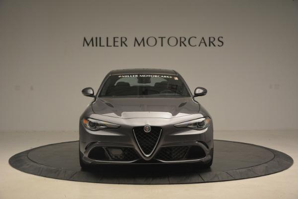 New 2017 Alfa Romeo Giulia Quadrifoglio for sale Sold at Alfa Romeo of Greenwich in Greenwich CT 06830 13
