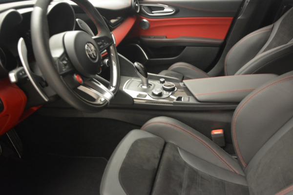 New 2017 Alfa Romeo Giulia Quadrifoglio for sale Sold at Alfa Romeo of Greenwich in Greenwich CT 06830 15