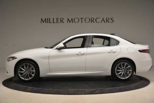 New 2017 Alfa Romeo Giulia Ti Q4 for sale Sold at Alfa Romeo of Greenwich in Greenwich CT 06830 3