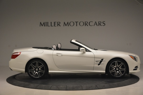 Used 2015 Mercedes Benz SL-Class SL 550 for sale Sold at Alfa Romeo of Greenwich in Greenwich CT 06830 10