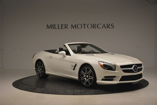 Used 2015 Mercedes Benz SL-Class SL 550 for sale Sold at Alfa Romeo of Greenwich in Greenwich CT 06830 12