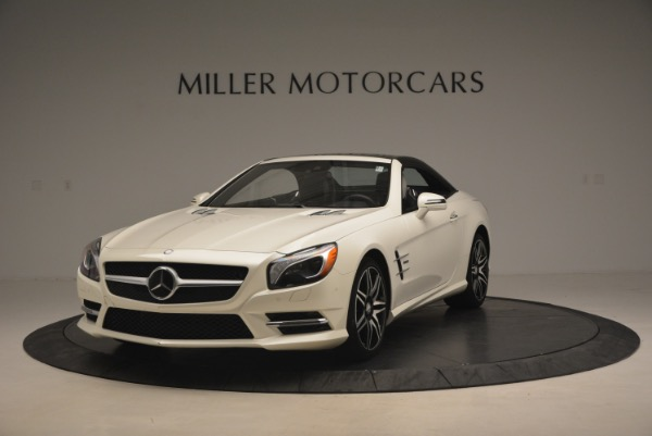 Used 2015 Mercedes Benz SL-Class SL 550 for sale Sold at Alfa Romeo of Greenwich in Greenwich CT 06830 15