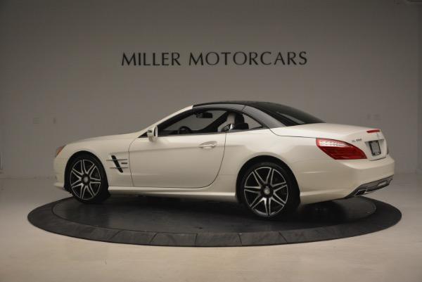 Used 2015 Mercedes Benz SL-Class SL 550 for sale Sold at Alfa Romeo of Greenwich in Greenwich CT 06830 18