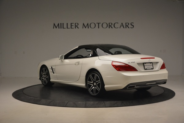 Used 2015 Mercedes Benz SL-Class SL 550 for sale Sold at Alfa Romeo of Greenwich in Greenwich CT 06830 19