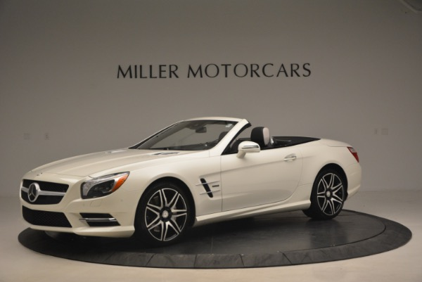 Used 2015 Mercedes Benz SL-Class SL 550 for sale Sold at Alfa Romeo of Greenwich in Greenwich CT 06830 2