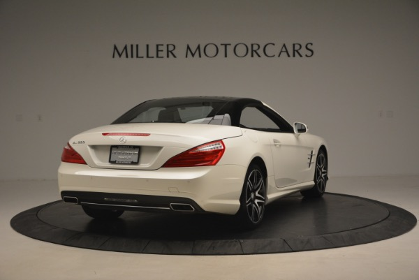 Used 2015 Mercedes Benz SL-Class SL 550 for sale Sold at Alfa Romeo of Greenwich in Greenwich CT 06830 21