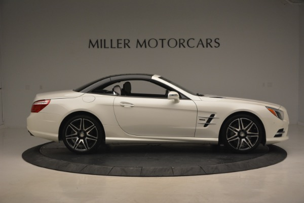 Used 2015 Mercedes Benz SL-Class SL 550 for sale Sold at Alfa Romeo of Greenwich in Greenwich CT 06830 23