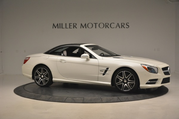 Used 2015 Mercedes Benz SL-Class SL 550 for sale Sold at Alfa Romeo of Greenwich in Greenwich CT 06830 24