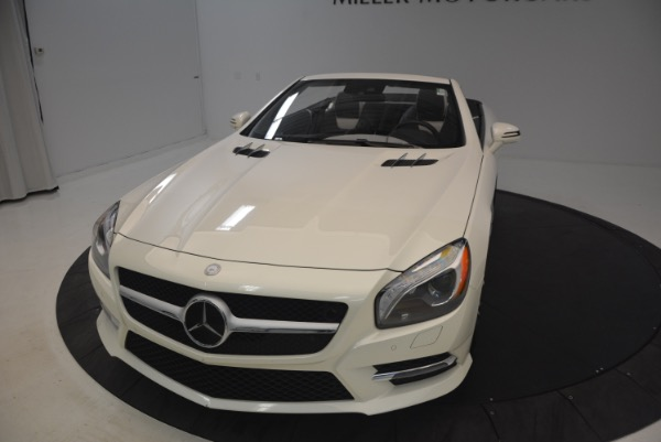 Used 2015 Mercedes Benz SL-Class SL 550 for sale Sold at Alfa Romeo of Greenwich in Greenwich CT 06830 26