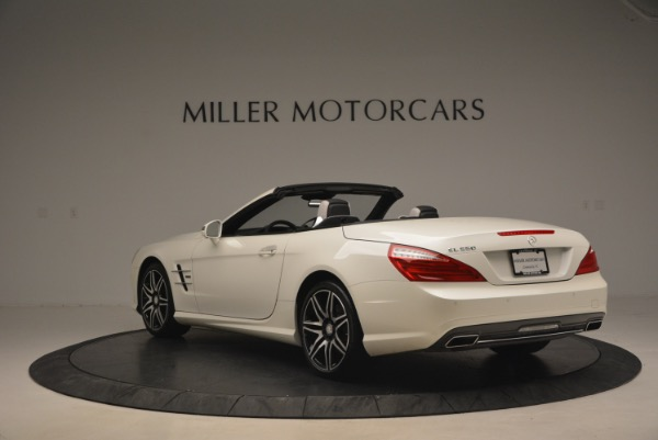 Used 2015 Mercedes Benz SL-Class SL 550 for sale Sold at Alfa Romeo of Greenwich in Greenwich CT 06830 5