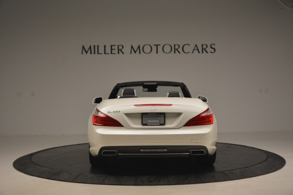 Used 2015 Mercedes Benz SL-Class SL 550 for sale Sold at Alfa Romeo of Greenwich in Greenwich CT 06830 6