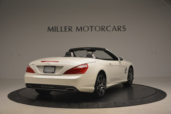 Used 2015 Mercedes Benz SL-Class SL 550 for sale Sold at Alfa Romeo of Greenwich in Greenwich CT 06830 7