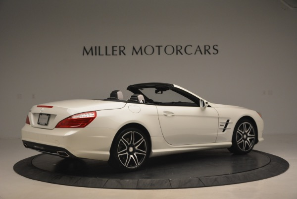 Used 2015 Mercedes Benz SL-Class SL 550 for sale Sold at Alfa Romeo of Greenwich in Greenwich CT 06830 8