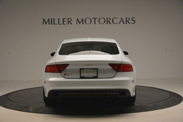 Used 2014 Audi RS 7 4.0T quattro Prestige for sale Sold at Alfa Romeo of Greenwich in Greenwich CT 06830 6