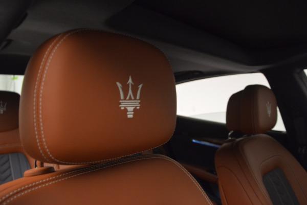 New 2017 Maserati Quattroporte S Q4 GranLusso for sale Sold at Alfa Romeo of Greenwich in Greenwich CT 06830 19