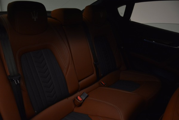 New 2017 Maserati Quattroporte S Q4 GranLusso for sale Sold at Alfa Romeo of Greenwich in Greenwich CT 06830 22