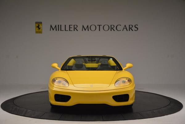 Used 2003 Ferrari 360 Spider 6-Speed Manual for sale Sold at Alfa Romeo of Greenwich in Greenwich CT 06830 12