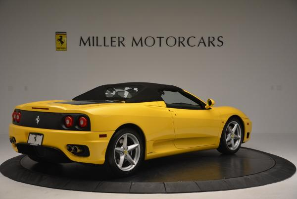 Used 2003 Ferrari 360 Spider 6-Speed Manual for sale Sold at Alfa Romeo of Greenwich in Greenwich CT 06830 20