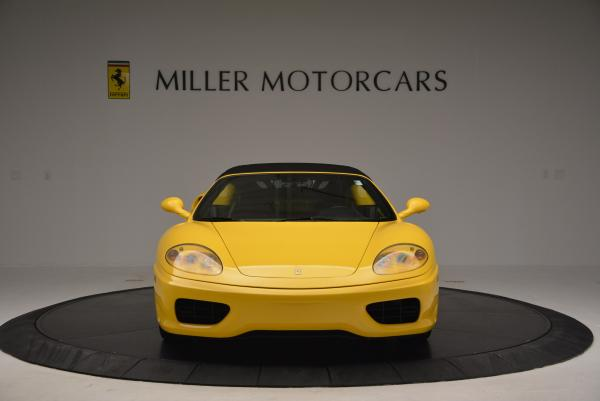 Used 2003 Ferrari 360 Spider 6-Speed Manual for sale Sold at Alfa Romeo of Greenwich in Greenwich CT 06830 24