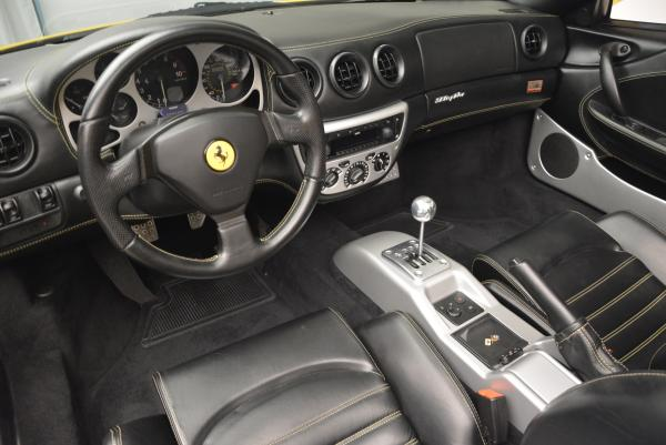 Used 2003 Ferrari 360 Spider 6-Speed Manual for sale Sold at Alfa Romeo of Greenwich in Greenwich CT 06830 25