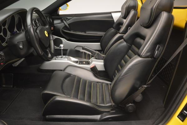 Used 2003 Ferrari 360 Spider 6-Speed Manual for sale Sold at Alfa Romeo of Greenwich in Greenwich CT 06830 26
