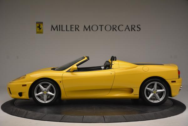 Used 2003 Ferrari 360 Spider 6-Speed Manual for sale Sold at Alfa Romeo of Greenwich in Greenwich CT 06830 3