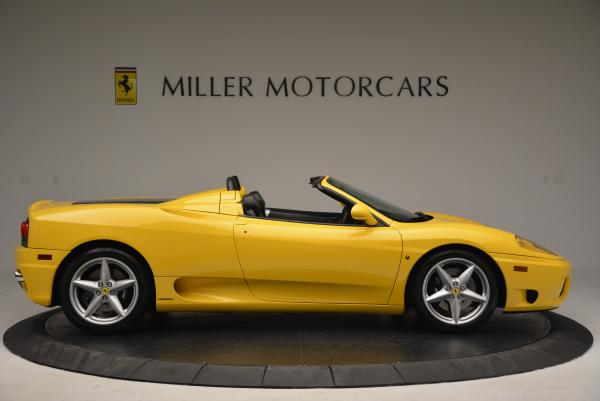 Used 2003 Ferrari 360 Spider 6-Speed Manual for sale Sold at Alfa Romeo of Greenwich in Greenwich CT 06830 9