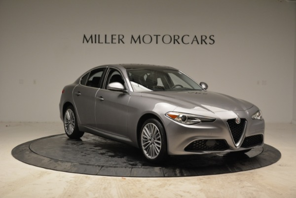 New 2017 Alfa Romeo Giulia Ti Lusso Q4 for sale Sold at Alfa Romeo of Greenwich in Greenwich CT 06830 11