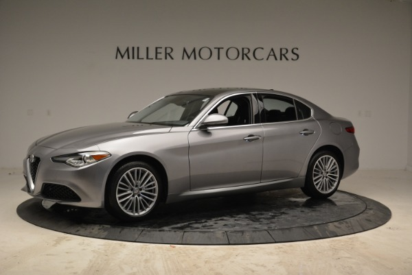New 2017 Alfa Romeo Giulia Ti Lusso Q4 for sale Sold at Alfa Romeo of Greenwich in Greenwich CT 06830 2