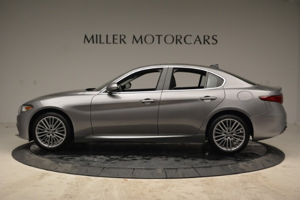 New 2017 Alfa Romeo Giulia Ti Lusso Q4 for sale Sold at Alfa Romeo of Greenwich in Greenwich CT 06830 3