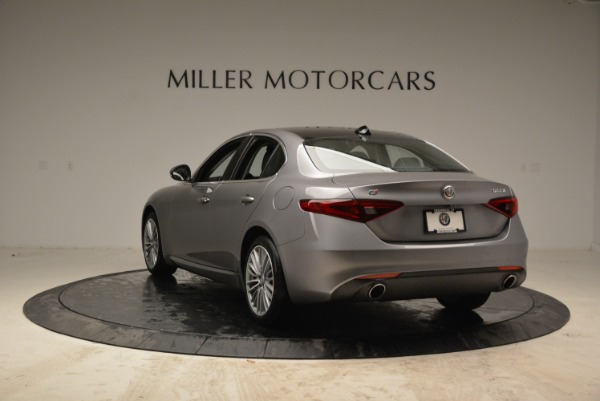 New 2017 Alfa Romeo Giulia Ti Lusso Q4 for sale Sold at Alfa Romeo of Greenwich in Greenwich CT 06830 5