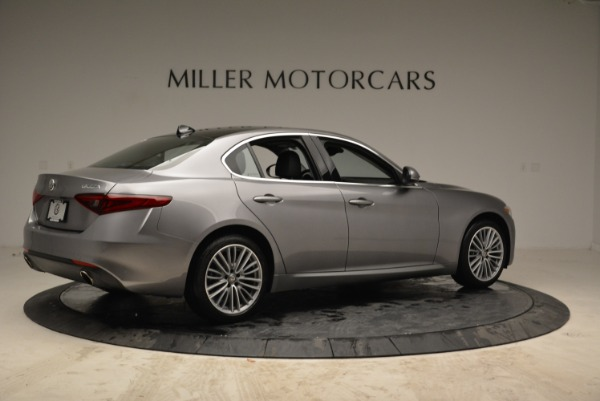 New 2017 Alfa Romeo Giulia Ti Lusso Q4 for sale Sold at Alfa Romeo of Greenwich in Greenwich CT 06830 8