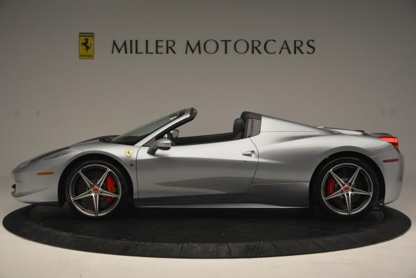 Used 2013 Ferrari 458 Spider for sale Sold at Alfa Romeo of Greenwich in Greenwich CT 06830 3