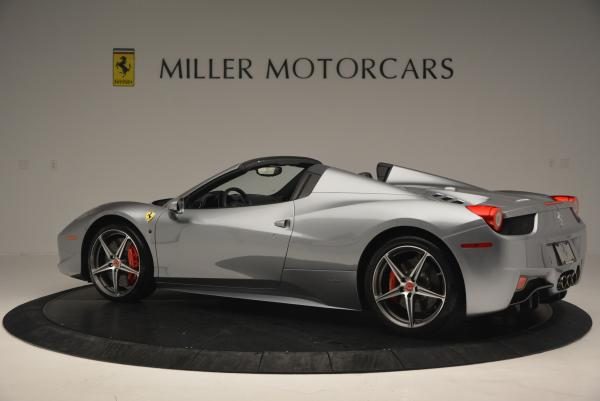 Used 2013 Ferrari 458 Spider for sale Sold at Alfa Romeo of Greenwich in Greenwich CT 06830 4