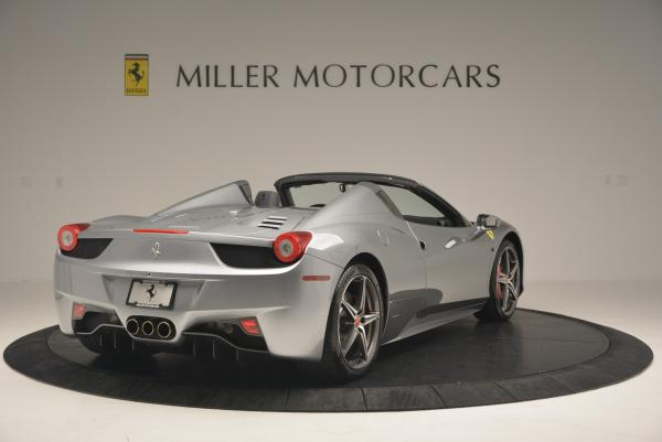 Used 2013 Ferrari 458 Spider for sale Sold at Alfa Romeo of Greenwich in Greenwich CT 06830 7