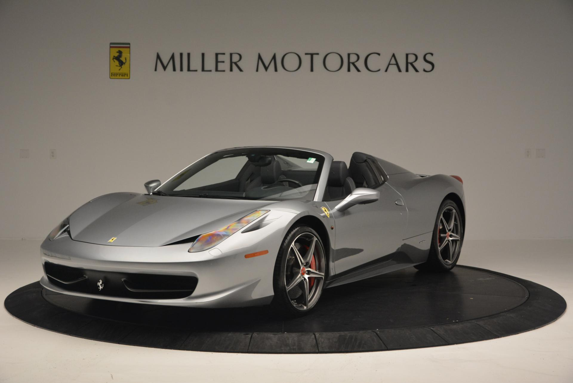 Used 2013 Ferrari 458 Spider for sale Sold at Alfa Romeo of Greenwich in Greenwich CT 06830 1