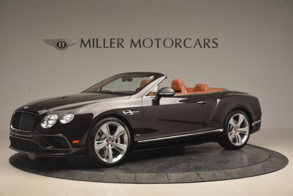 Used 2017 Bentley Continental GTC V8 S for sale Sold at Alfa Romeo of Greenwich in Greenwich CT 06830 2