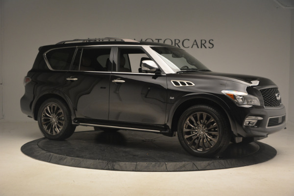 Used 2015 INFINITI QX80 Limited 4WD for sale Sold at Alfa Romeo of Greenwich in Greenwich CT 06830 10