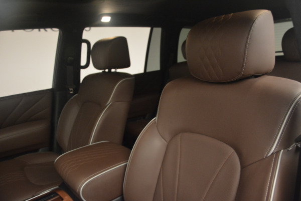 Used 2015 INFINITI QX80 Limited 4WD for sale Sold at Alfa Romeo of Greenwich in Greenwich CT 06830 13