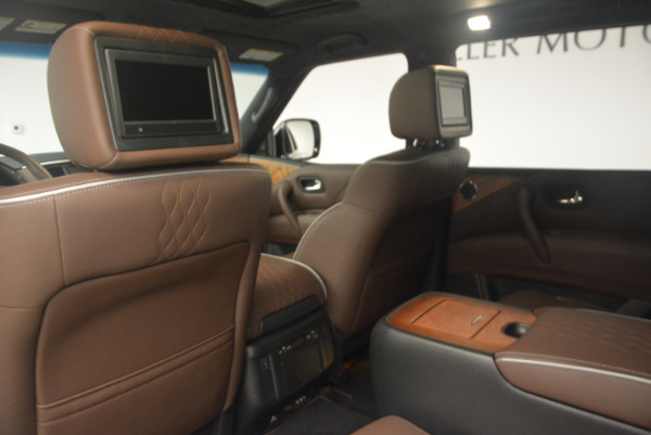 Used 2015 INFINITI QX80 Limited 4WD for sale Sold at Alfa Romeo of Greenwich in Greenwich CT 06830 19