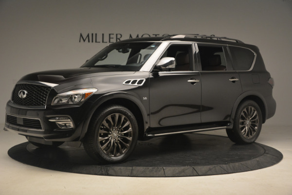Used 2015 INFINITI QX80 Limited 4WD for sale Sold at Alfa Romeo of Greenwich in Greenwich CT 06830 2