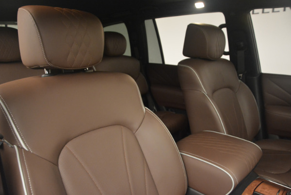 Used 2015 INFINITI QX80 Limited 4WD for sale Sold at Alfa Romeo of Greenwich in Greenwich CT 06830 24