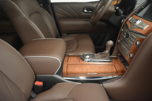 Used 2015 INFINITI QX80 Limited 4WD for sale Sold at Alfa Romeo of Greenwich in Greenwich CT 06830 25