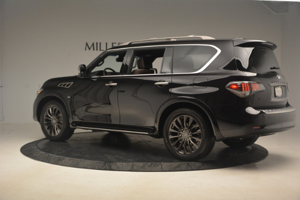 Used 2015 INFINITI QX80 Limited 4WD for sale Sold at Alfa Romeo of Greenwich in Greenwich CT 06830 4