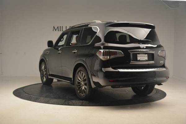 Used 2015 INFINITI QX80 Limited 4WD for sale Sold at Alfa Romeo of Greenwich in Greenwich CT 06830 5