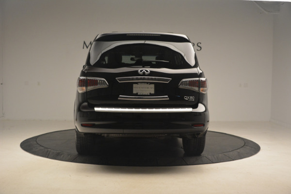 Used 2015 INFINITI QX80 Limited 4WD for sale Sold at Alfa Romeo of Greenwich in Greenwich CT 06830 6