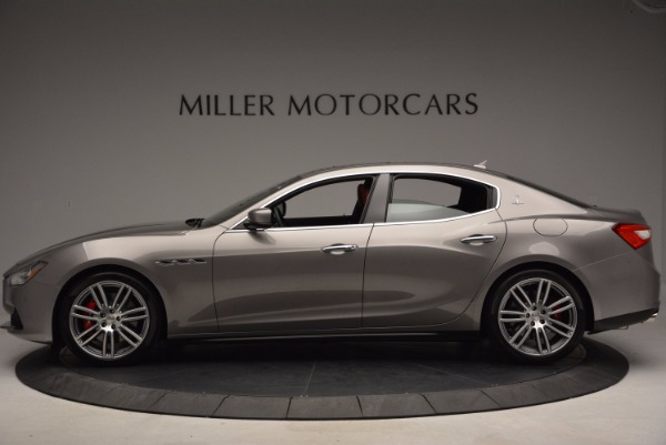 Used 2015 Maserati Ghibli S Q4 for sale Sold at Alfa Romeo of Greenwich in Greenwich CT 06830 3